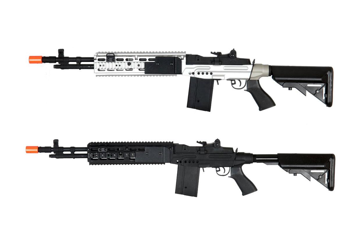 Lancer Tactical M14 EBR AEG Airsoft Rifle w/ Crane Stock (Option)