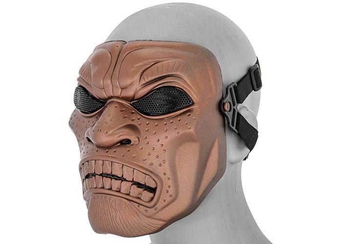 Tac 9 AC-317RB Persian Immortal Mask ( Red Bronze ) Persian Immortals Mask