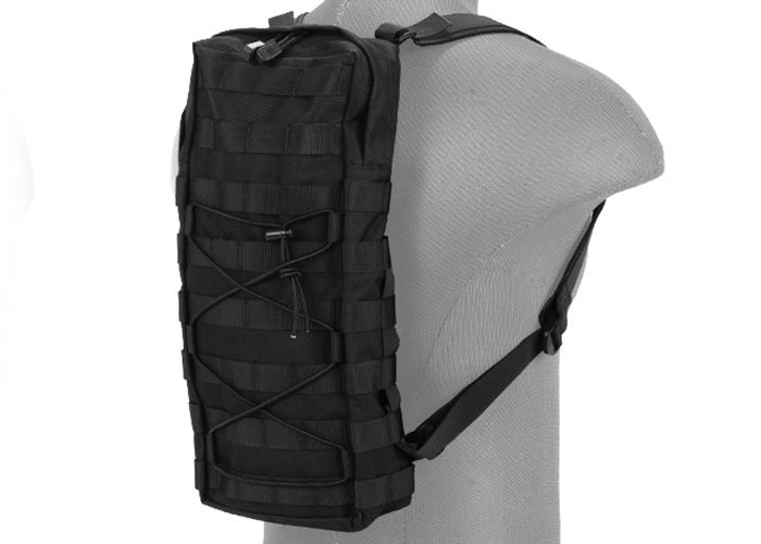 c269998ba0e Lancer Tactical MOLLE Attachable Hydration Backpack (Black)