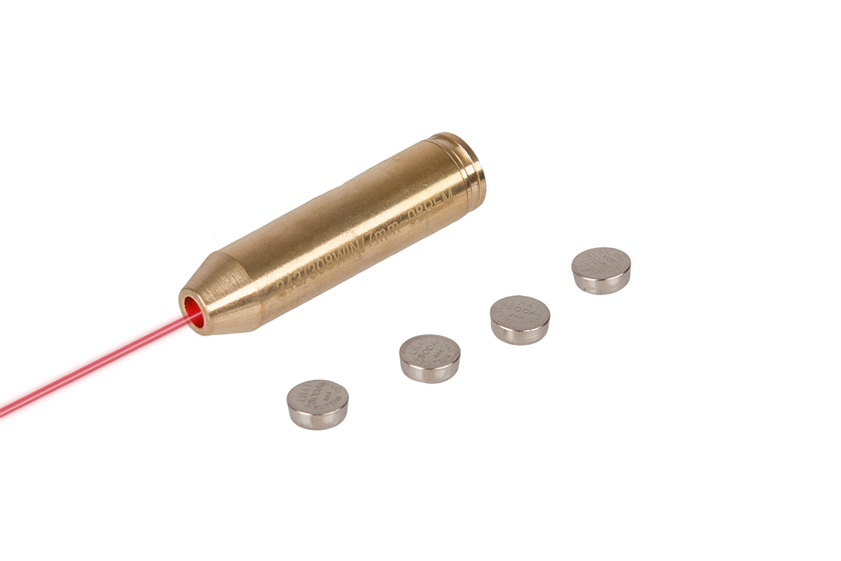 Lancer Tactical Brass Laser Bore Sight Cartridge (243/308 WIN/7mm - 08 REM)
