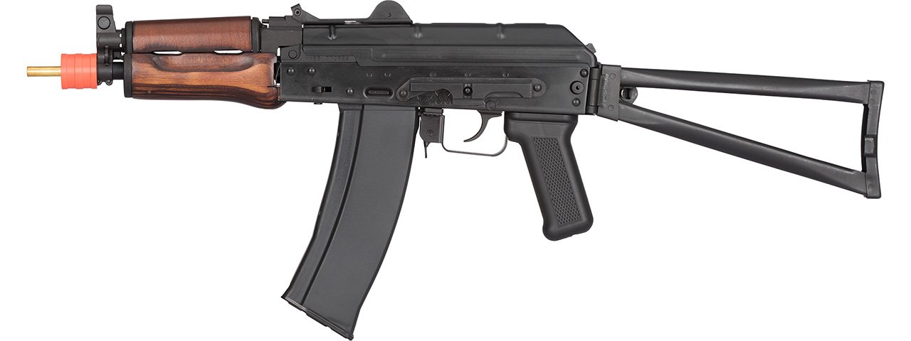 GHK AK-74U GBB Airsoft Rifle (Black/Wood)