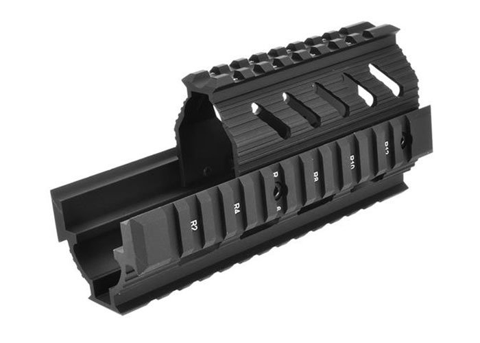 LCT TX-1 Rail AK Series AEG Handguard (Black)
