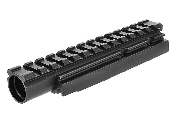 LCT Airsoft AMD-65 Series AEG Forward Optical Rail System (Black)
