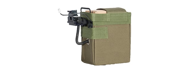 Lancer Tactical M240 4000 rd. AEG High Capacity Box Magazine (OD Green)
