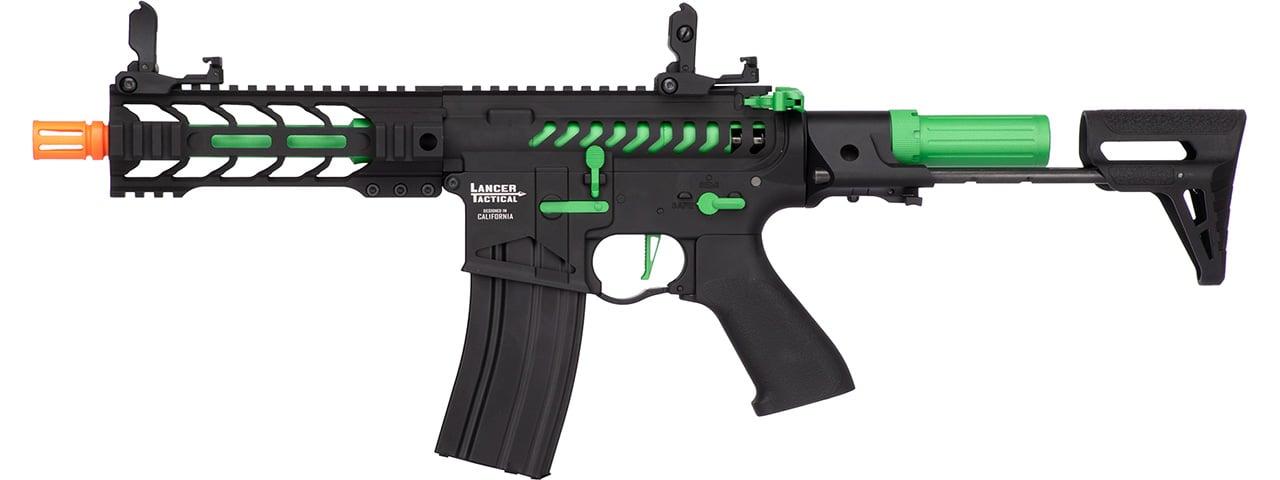 Lancer Tactical Airsoft ProLine BATTLE HAWK PDW AEG HIGH FPS BLACK with Deans Co
