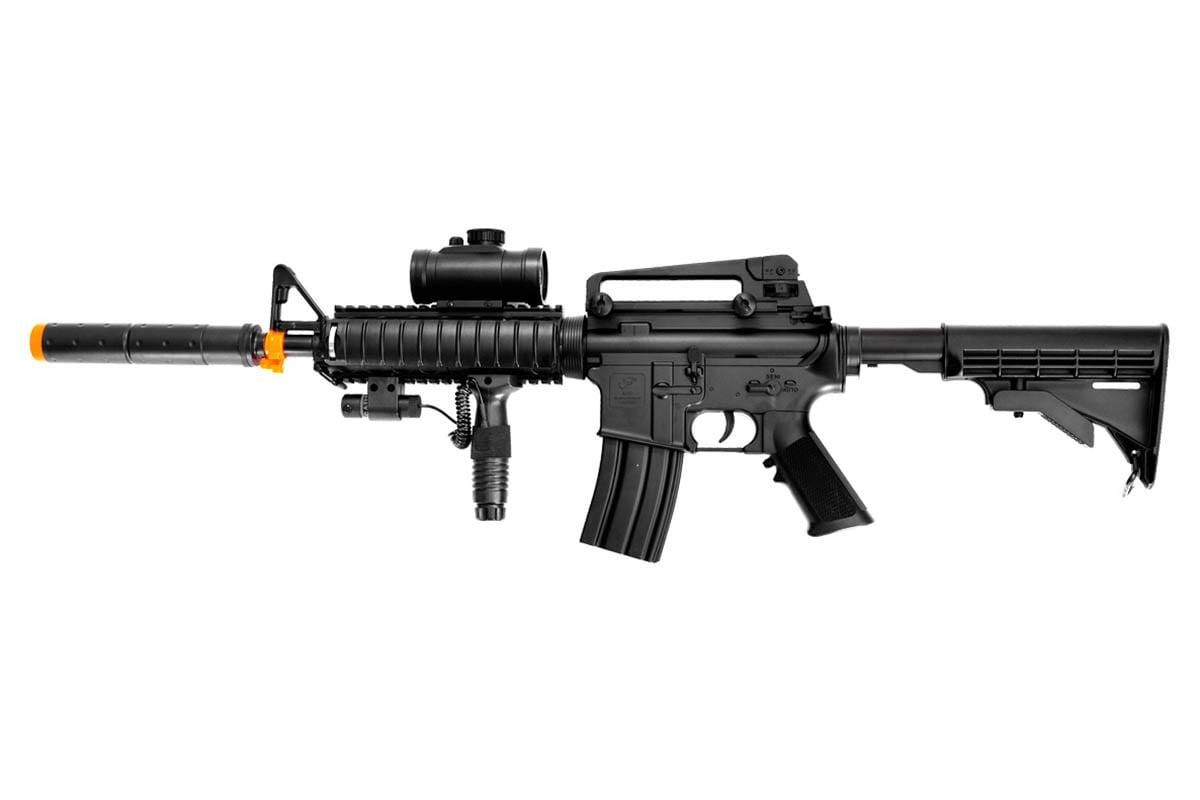 desert eagle tacspec m4 rifle aeg airsoft rifle w. Black Bedroom Furniture Sets. Home Design Ideas