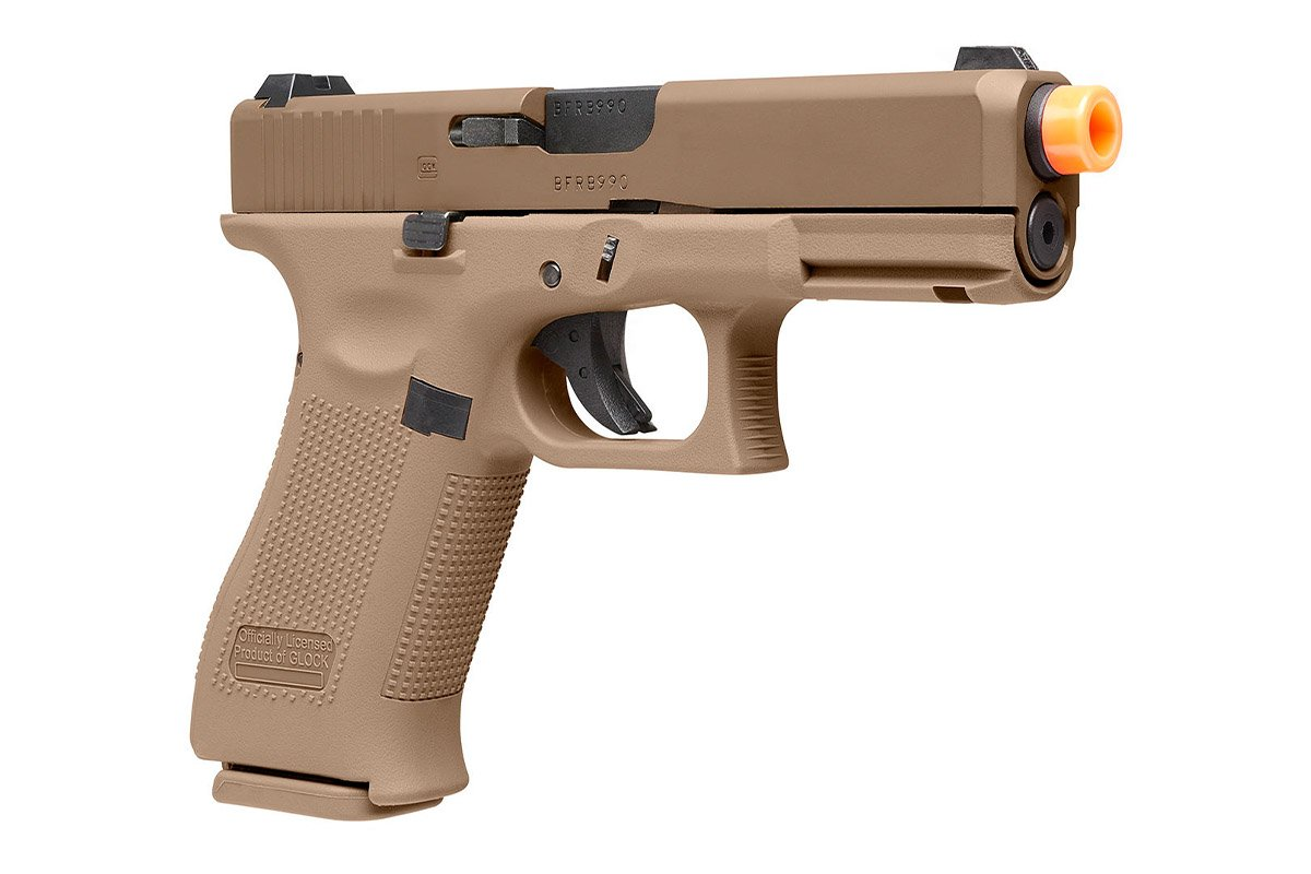 Elite Force GLOCK 19X Gas Blowback Airsoft Pistol (Coyote)