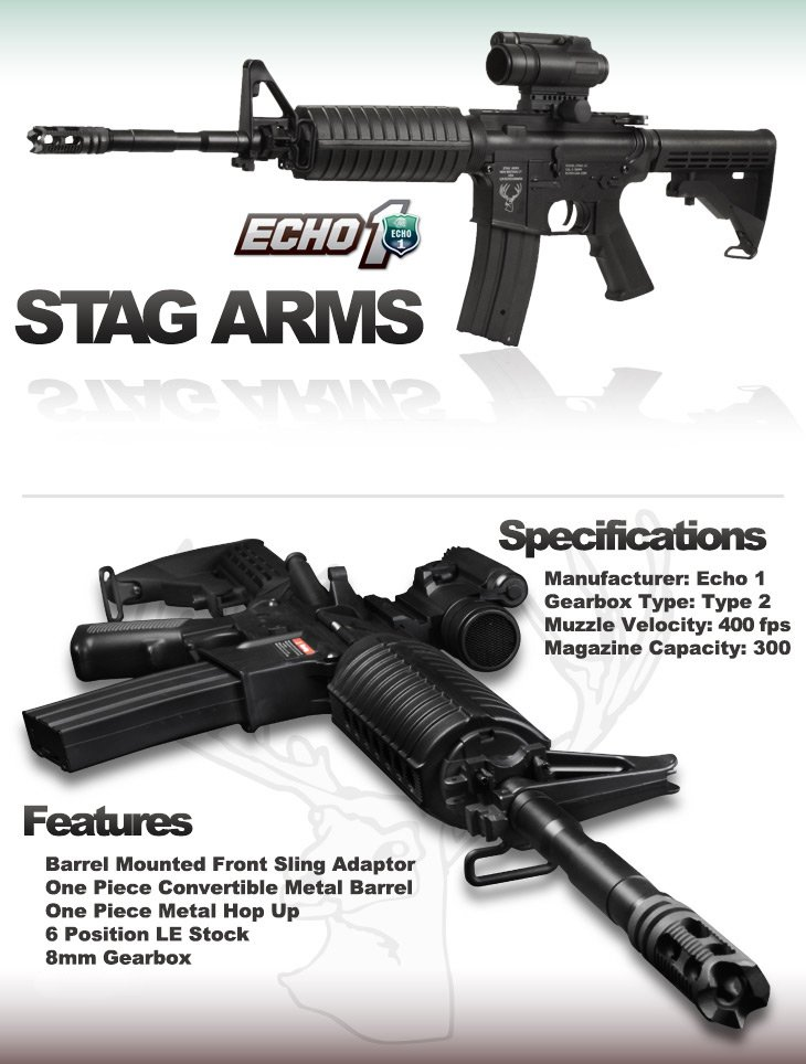 ECHO 1 Full Metal STAG-15 Carbine
