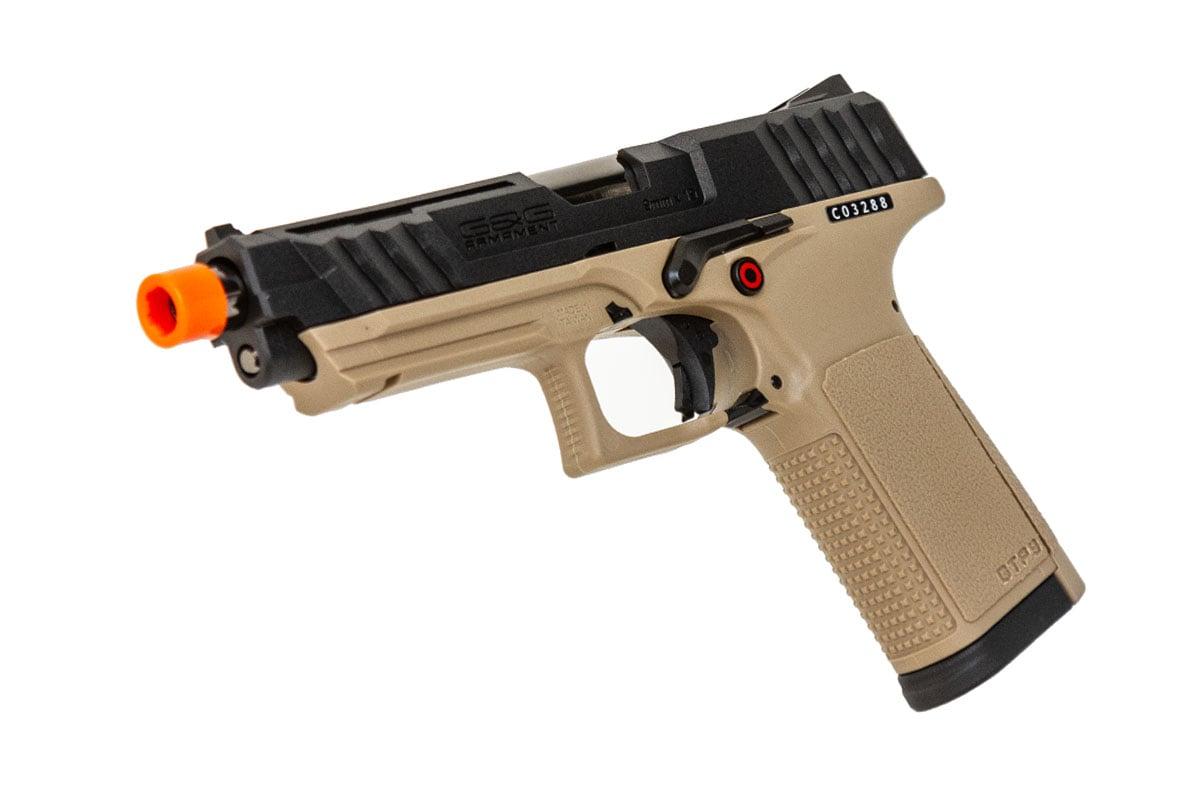 G&G GTP9 Gas Blowback Airsoft Pistol (Black/Desert)