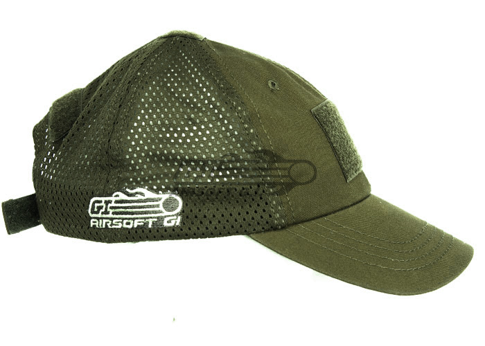 5045b3133 Airsoft GI Tactical Embroidered Mesh Handy Cap (OD Green)