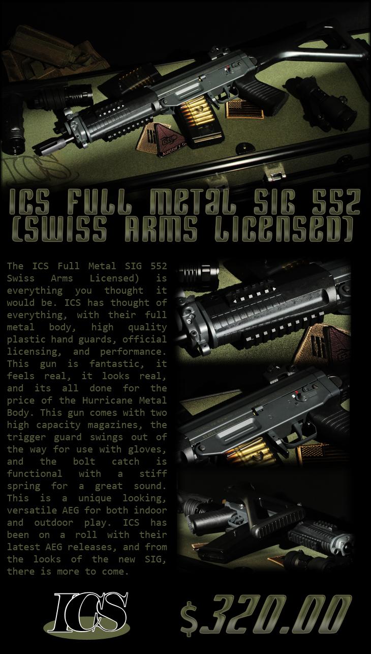 ICS Full Metal SIG 552
