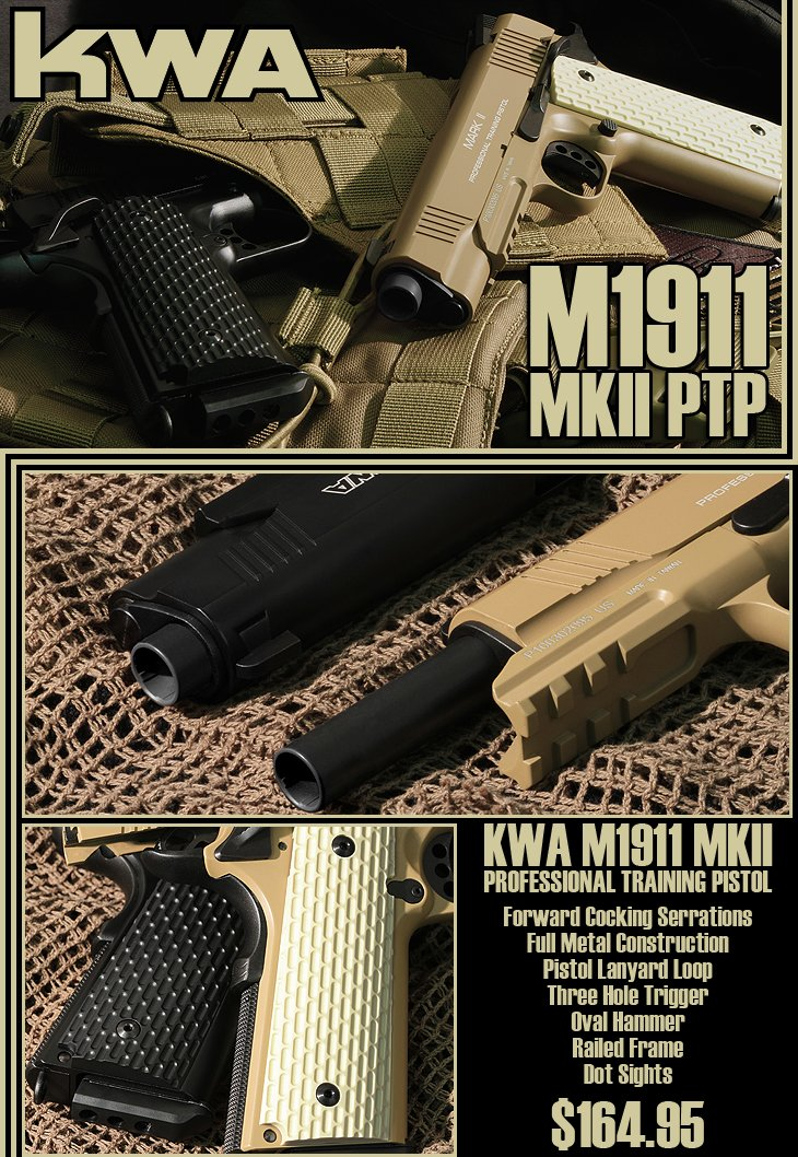 KWA FUll Metal M1911 Mark II PTP