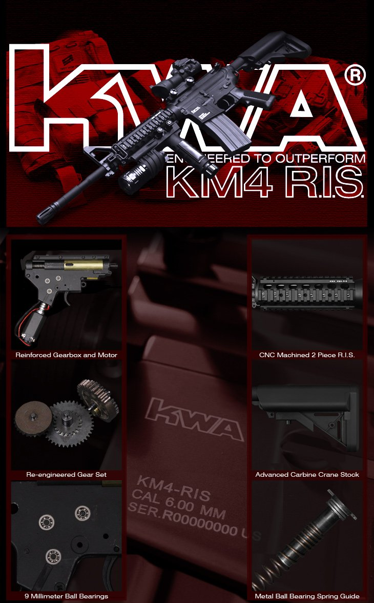KWA Full Metal KM4 RIS