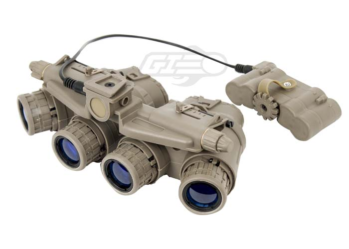 Lancer Tactical GPNVG-18 Dummy Night Vision Goggle   Tan  Zero Dark Thirty Night Vision