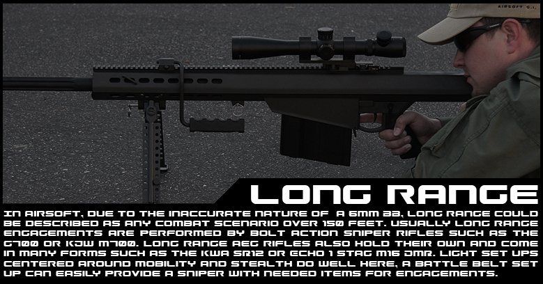 Long Range | Airsoft GI | Free Shipping Over $60