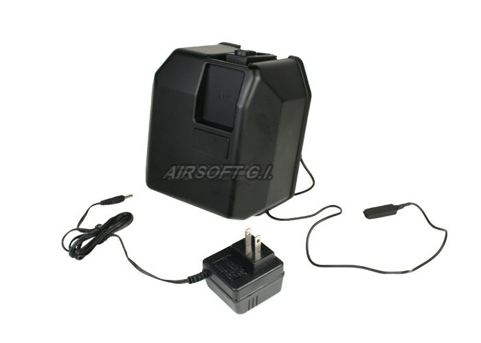 A&K 5000rd M4/M16 High Capacity AEG Box Magazine (Motorized)