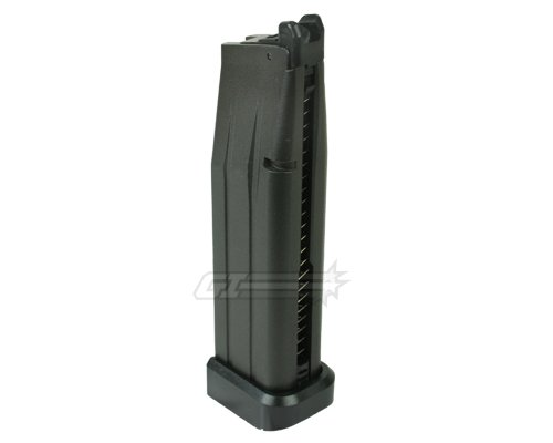 WE Hi-Capa Standard 27 rd. CO2 Pistol Magazine (Black)