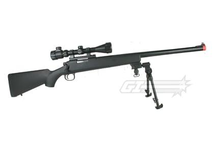 jg full metal bar 10 bolt action sniper rifle airsoft gun black. Black Bedroom Furniture Sets. Home Design Ideas