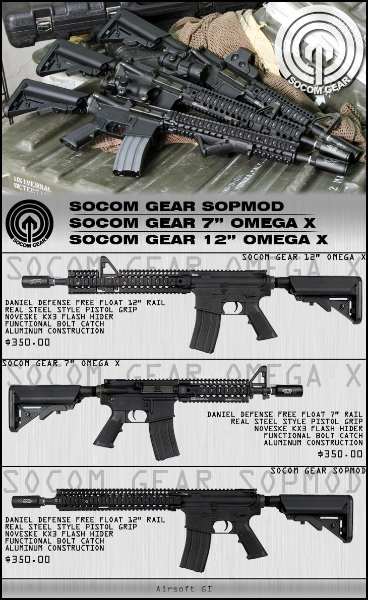 Socom Gear AEG's w/ Daniel Defense RIS
