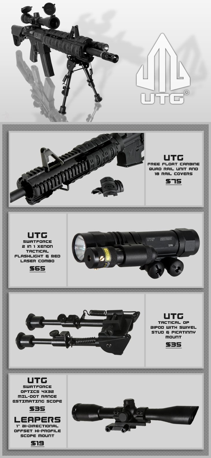 UTG 2K10 Accessories