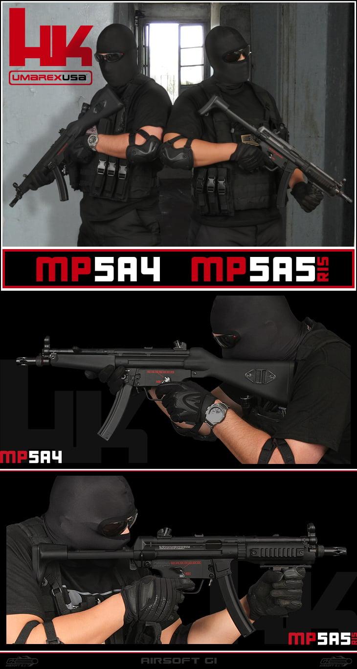 Umarex H&K MP5 AEG's