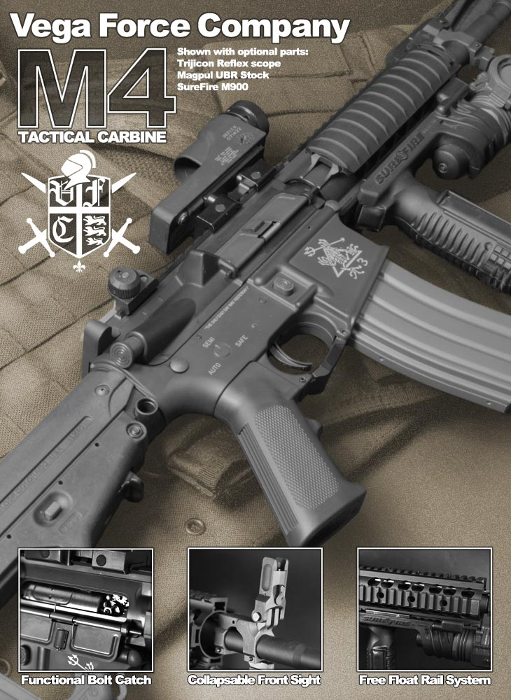 VFC Full Metal M4 Tactical Carbine ( E Series ) Airsoft Gun