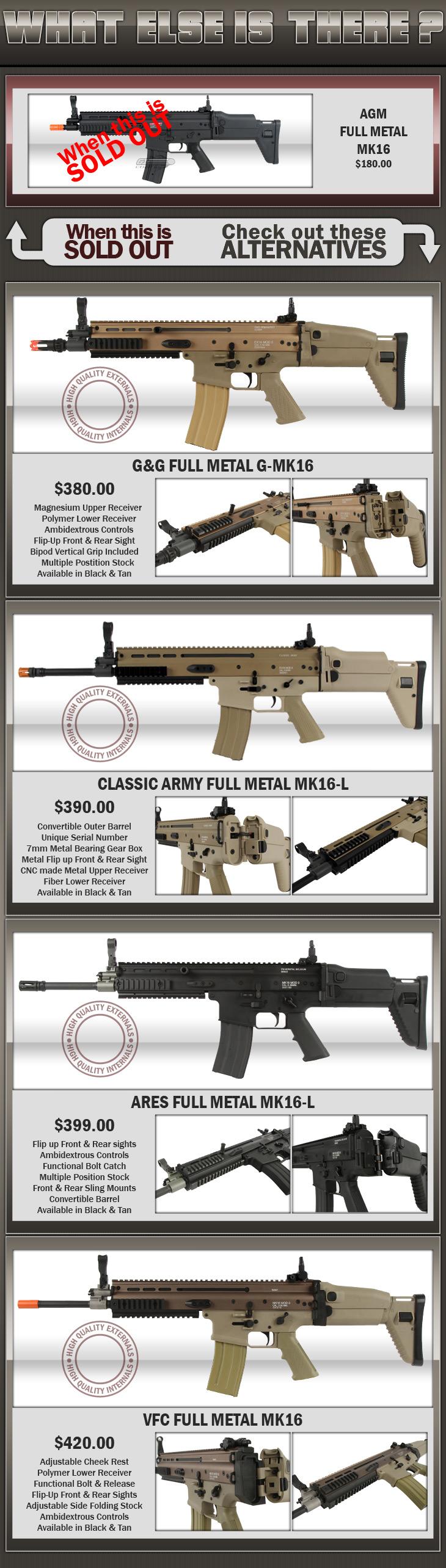 AGM Full Metal MK16
