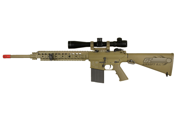 M110 Sniper Rifle Airsoft ARES Full Metal M110 A...