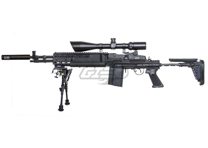 Classic Army Full Metal M14 EBR AEG Airsoft Rifle ... M14 Ebr Airsoft