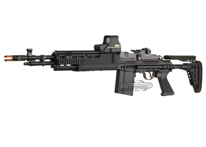 Classic Army Full Metal M14 EBR Airsoft Gun | Airsoft GI ... M14 Ebr Airsoft