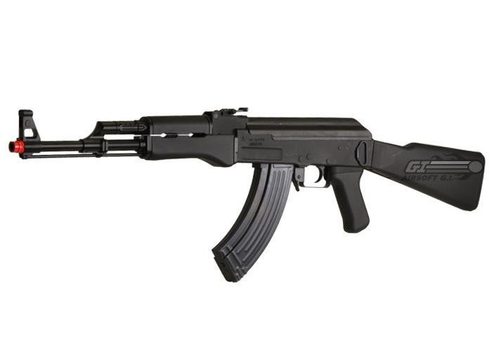 air soft machine gun
