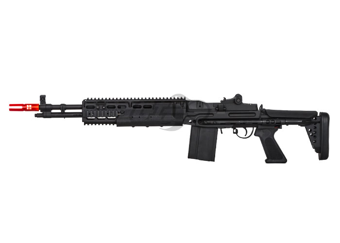 JG JG1403 M14 EBR Sniper Rifle AEG Airsoft Gun ( Black ) M14 Ebr Rifle