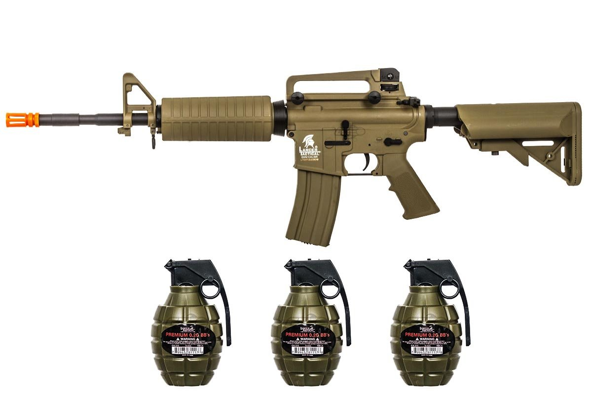 Airsoft Gi Lt03t Gen 2 M4a1 Carbine Aeg Airsoft Rifle Bb Pack Tan