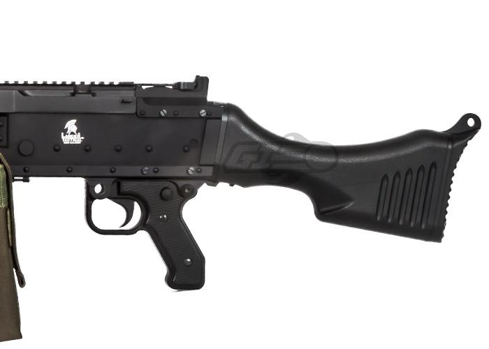 Lancer Tactical LT240 M240 Bravo AEG Airsoft LMG (Black)
