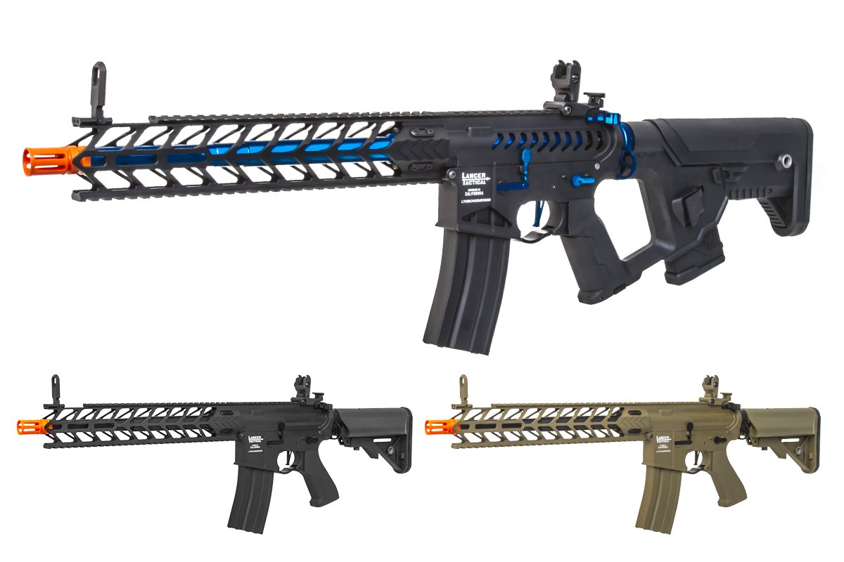 Lancer Tactical Pro-Line Nightwing Carbine AEG Airsoft Rifle (Option)