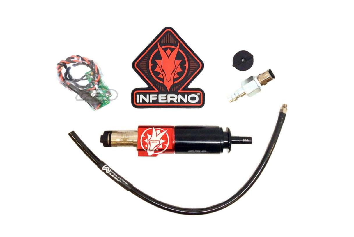 884eab8552a Wolverine Airsoft INFERNO Gen 2 Ver. 2 M4 Cylinder w/ Spartan Edition  Electronics