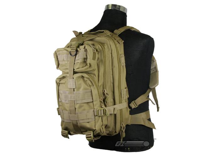 60e1b26a8212 Condor Outdoor Small Assault Backpack ( Tan )