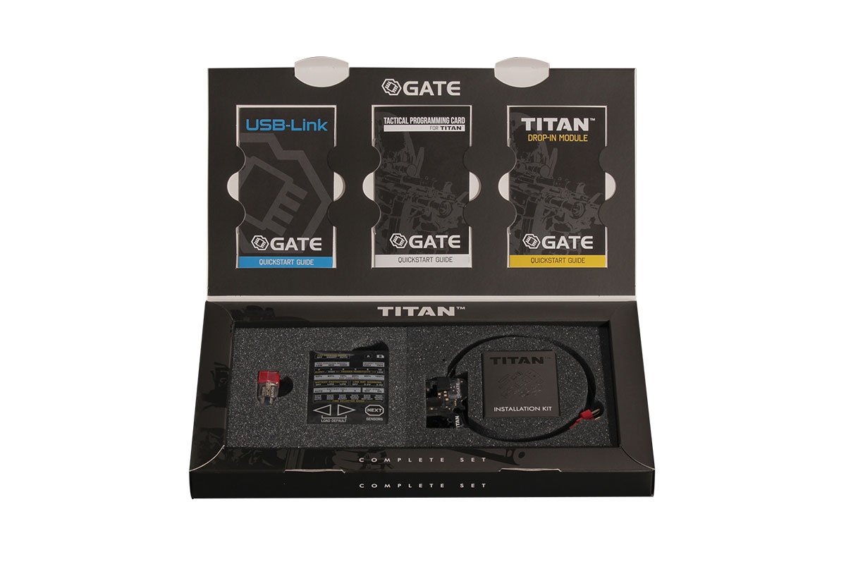 Gate TITAN Advanced Rear Wired MOSFET Complete Set