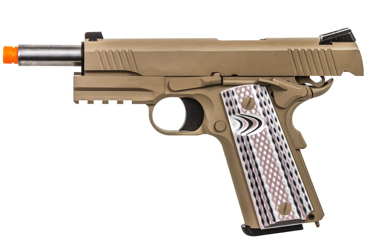 WE M45A1 GBB Airsoft Pistol (Tan)