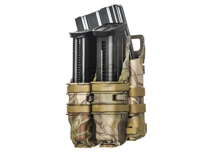 Emerson High Speed Quick Single Rifle/Double Pistol Pouch (Drake)