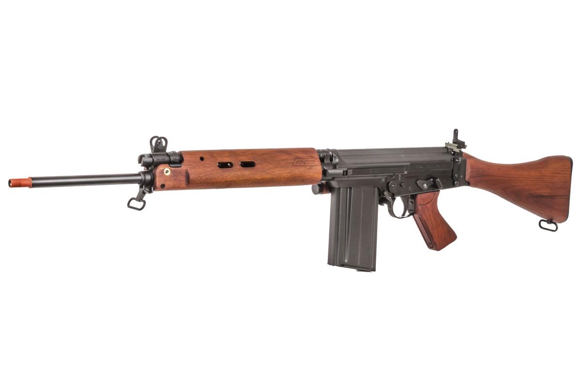 ARES L1A1 SLR Battle AEG Airsoft Rifle (Wood)