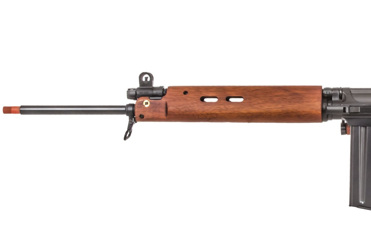 ARES L1A1 SLR Battle AEG Airsoft Rifle (Wood)