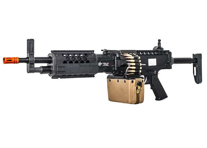 Knight's Armament Classic Edition Stoner AEG Airsoft LMG (Black)