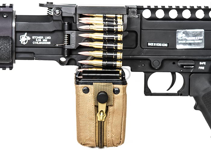 Knights armament classic edition stoner aeg airsoft lmg black thecheapjerseys Choice Image