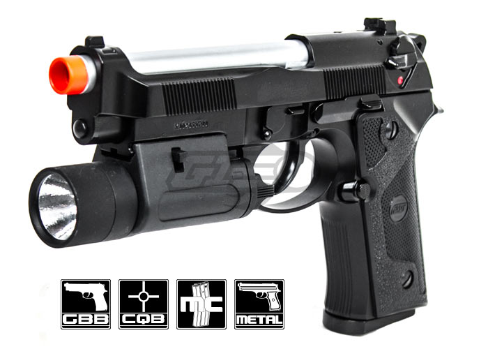 ASG M9 IA Gas Blow Back Full Metal Pistol Airsoft Gun