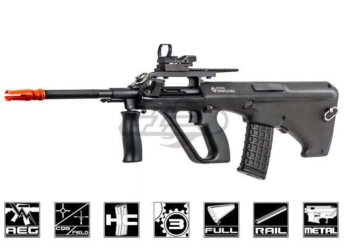 ASG Sportline Styer AUG A2 Carbine AEG Airsoft Gun ( Black )