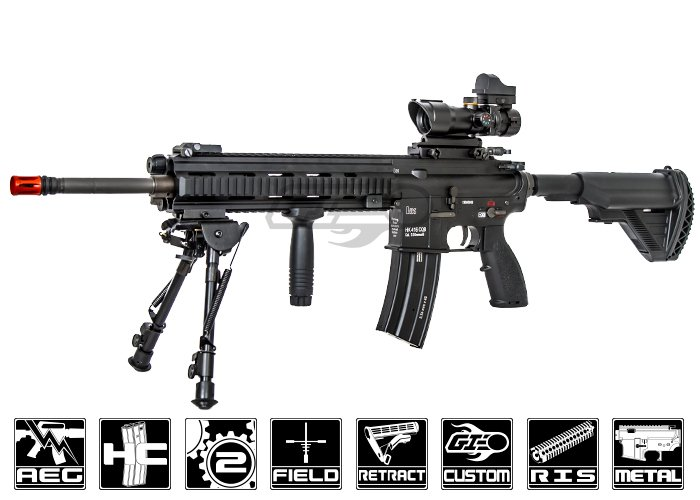 Airsoft gi custom semper fi m27 iar airsoft rifle for Semper fi fund rating