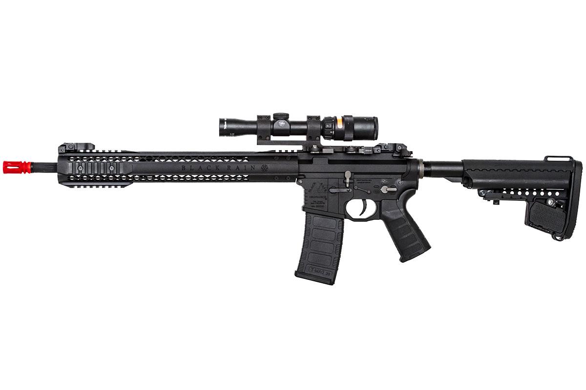 Black Rain Ordnance Fallout 15 Force Battle Rifle AEG Airsoft Gun by King Arms