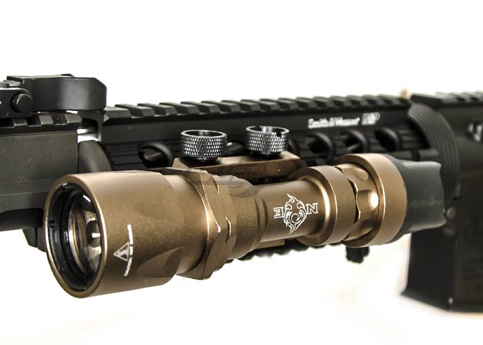 Bravo Airsoft Super Tactical LED Flashlight (Dark Earth)