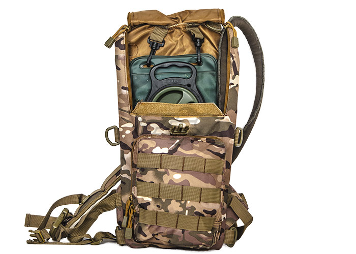 Tactical Lightweight Hydration Pack ( Camo )